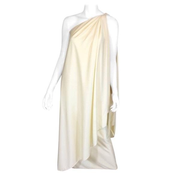 Halston IV Vintage Dresses | Vintage Halston Iv One Shoulder Column ...